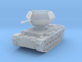 Flakpanzer III Ostwind 1/220 in Smooth Fine Detail Plastic