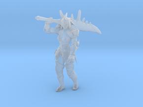 Monster Hunter Rathalos female blademaster DnD rpg in Smooth Fine Detail Plastic