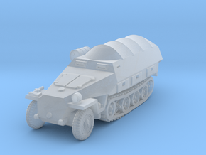 Sdkfz 251/8 D Ambulance (covered) 1/144 in Smooth Fine Detail Plastic