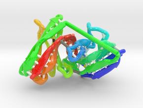 Single Chain Variable Fragment (scFv) in Glossy Full Color Sandstone