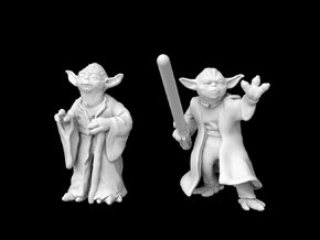 (1/47) Yoda Set in Smooth Fine Detail Plastic