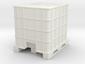 IBC Container Tank 1/48 in White Natural Versatile Plastic