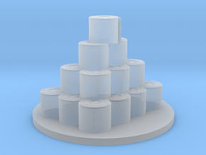 Toilet Paper Roll Objective Marker coronavirus rpg in Smooth Fine Detail Plastic