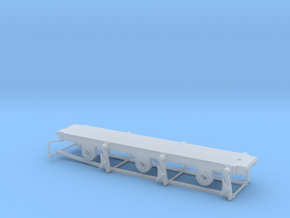 812 Tender 3000 Gallon - EM-P4 Chassis in Smooth Fine Detail Plastic