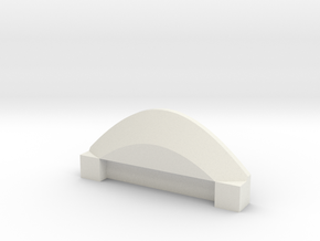 Life3D Capsule - Camera Plate Holder P1 in White Natural Versatile Plastic