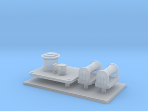 1/72 Cyclone Anchor Winch in Smooth Fine Detail Plastic