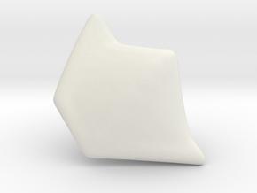 PInk Slayer Shoulder LGCY in White Natural Versatile Plastic