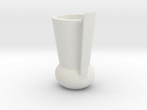 Amphores 413 RAW in White Natural Versatile Plastic
