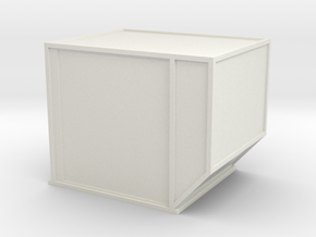 AKE Air Container (closed) 1/72 in White Natural Versatile Plastic