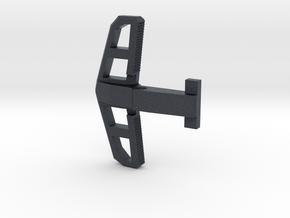 Marui AA12 Low profile charging handle in Black PA12