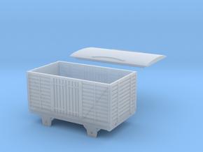 Broad Gauge Van (N Scale) in Smooth Fine Detail Plastic