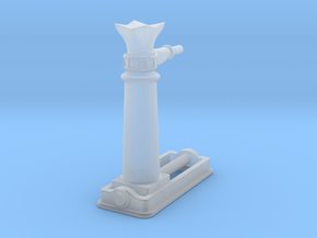 7CR003 Cambrian Railways Screw Jack (7mm) in Smooth Fine Detail Plastic