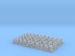 6/8mm Udinni Sand peoples in Smooth Fine Detail Plastic