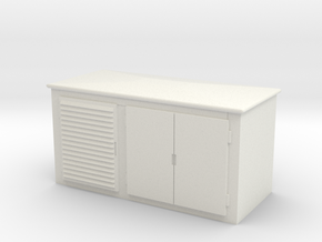 Electrical Cabinet 1/48 in White Natural Versatile Plastic