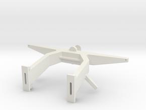 Antennemast Scale 1 to 16 in White Natural Versatile Plastic