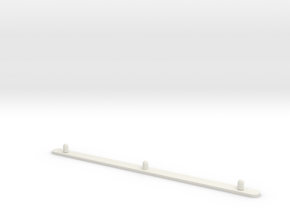 Animation Peg Bar for 3-hole Punch in White Natural Versatile Plastic