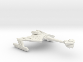 3788 Scale Klingon X-Ship D7XK Battlecruiser WEM in White Natural Versatile Plastic