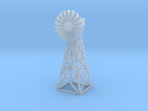 Steel Windmill 1/160 in Smooth Fine Detail Plastic