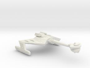 3125 Scale Klingon X-Ship D7XK Battlecruiser WEM in White Natural Versatile Plastic