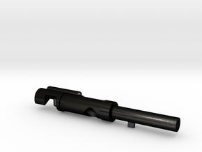 Pin_36mm in Matte Black Steel