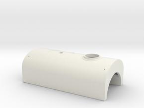 Quarry Hunslet 'Velinheli' Welded Tank (SM32) in White Natural Versatile Plastic