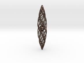 Quantum Vajra in Polished Bronze Steel