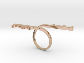 DO WHAT YOU LOVE RING in 14k Rose Gold