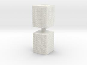 HESCO Sandbag Barrier (x2) 1/76 in White Natural Versatile Plastic
