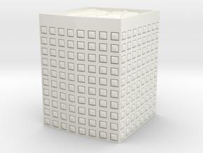 HESCO Sandbag Barrier 1/48 in White Natural Versatile Plastic