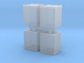 HESCO Sandbag Barrier (x4) 1/144 in Smooth Fine Detail Plastic