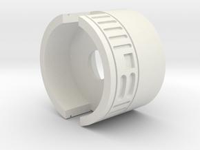 Speaker Pod (28mm WOW) in White Natural Versatile Plastic