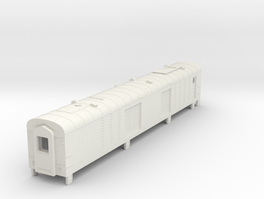 Rocky Mountaineer Generator Car in N scale in White Natural Versatile Plastic