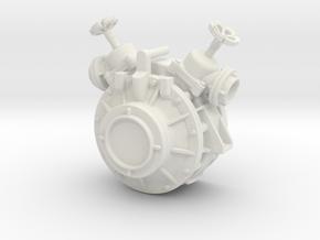pump-4 in White Natural Versatile Plastic