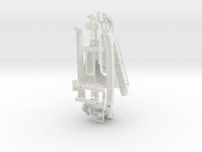 1/50th Prentice Knuckleboom Loader in White Natural Versatile Plastic