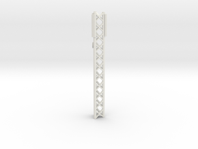 Phone Cell Tower 1/100 in White Natural Versatile Plastic
