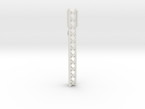 Phone Cell Tower 1/87 in White Natural Versatile Plastic