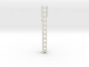 Phone Cell Tower 1/76 in White Natural Versatile Plastic