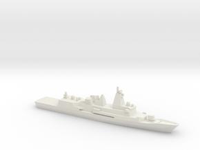 Anzac-class frigate (New Zealand Refitted), 1/2400 in White Natural Versatile Plastic