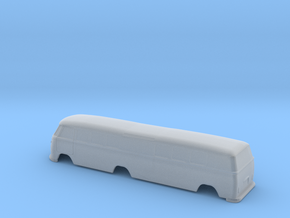 VW_Rail Bus - Nscale in Smooth Fine Detail Plastic