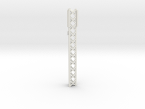 Phone Cell Tower 1/43 in White Natural Versatile Plastic