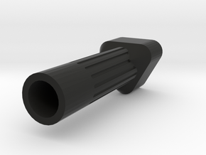 LX knob extender - tri head in Black Natural Versatile Plastic