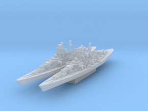 Bismarck class (Axis & Allies) in Smooth Fine Detail Plastic