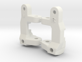 H1 H2 Dyna Blaster / Dyna Storm / TR-15T C-hubs 3° in White Natural Versatile Plastic