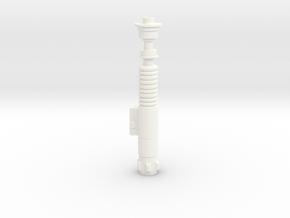 Star Wars - Luke's Lightsaber 1:6 in White Processed Versatile Plastic