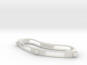 Face Medical Shield for Covid-19 Corona Virus in White Natural Versatile Plastic
