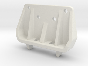 Tamiya DB / DS211x shocktower for CFK rear damper  in White Natural Versatile Plastic