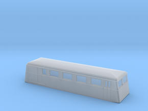 Swedish wagon for railcar UCFo1 / UCFo2 N-scale in Smooth Fine Detail Plastic