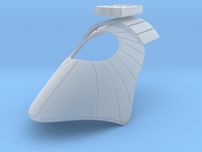 Alpha Class Pauldron in Smooth Fine Detail Plastic