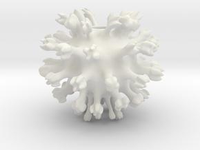 Virus in White Natural Versatile Plastic