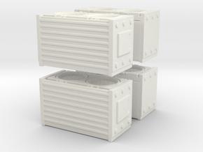 HEPA Air Filtration Unit (x4) 1/87 in White Natural Versatile Plastic